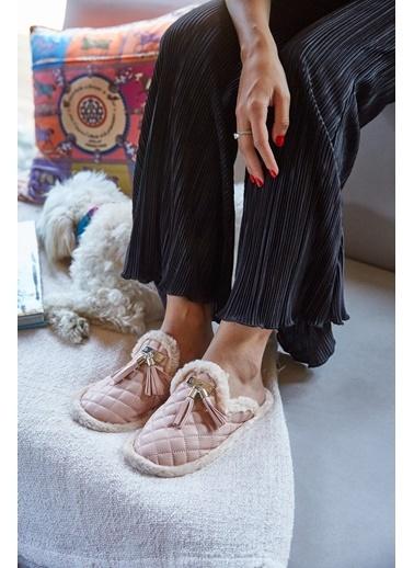 Arma Shoes Kadın Milano Ev Terliği Pudra